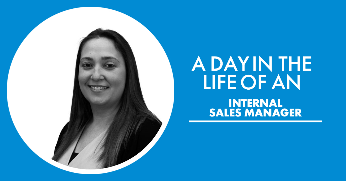 A day in the life if an internal sales manager