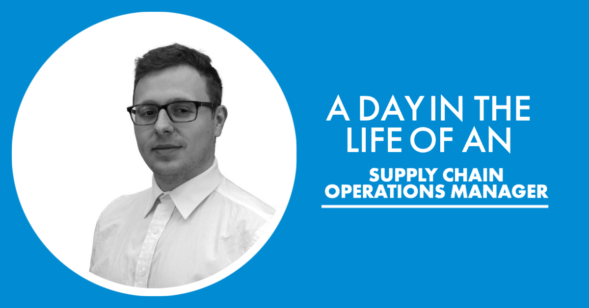 A day in the life of a supply chain operations manager