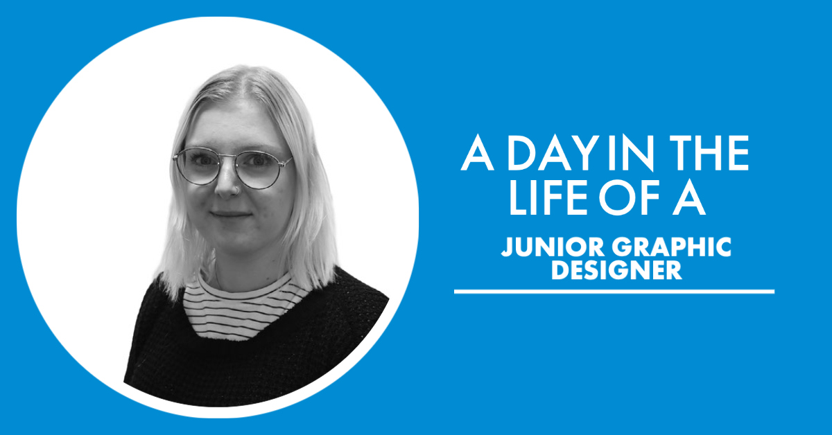 Day in the life as a Junior Graphic Designer